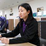 奥田 乃梨子 / 販売事務課 課長